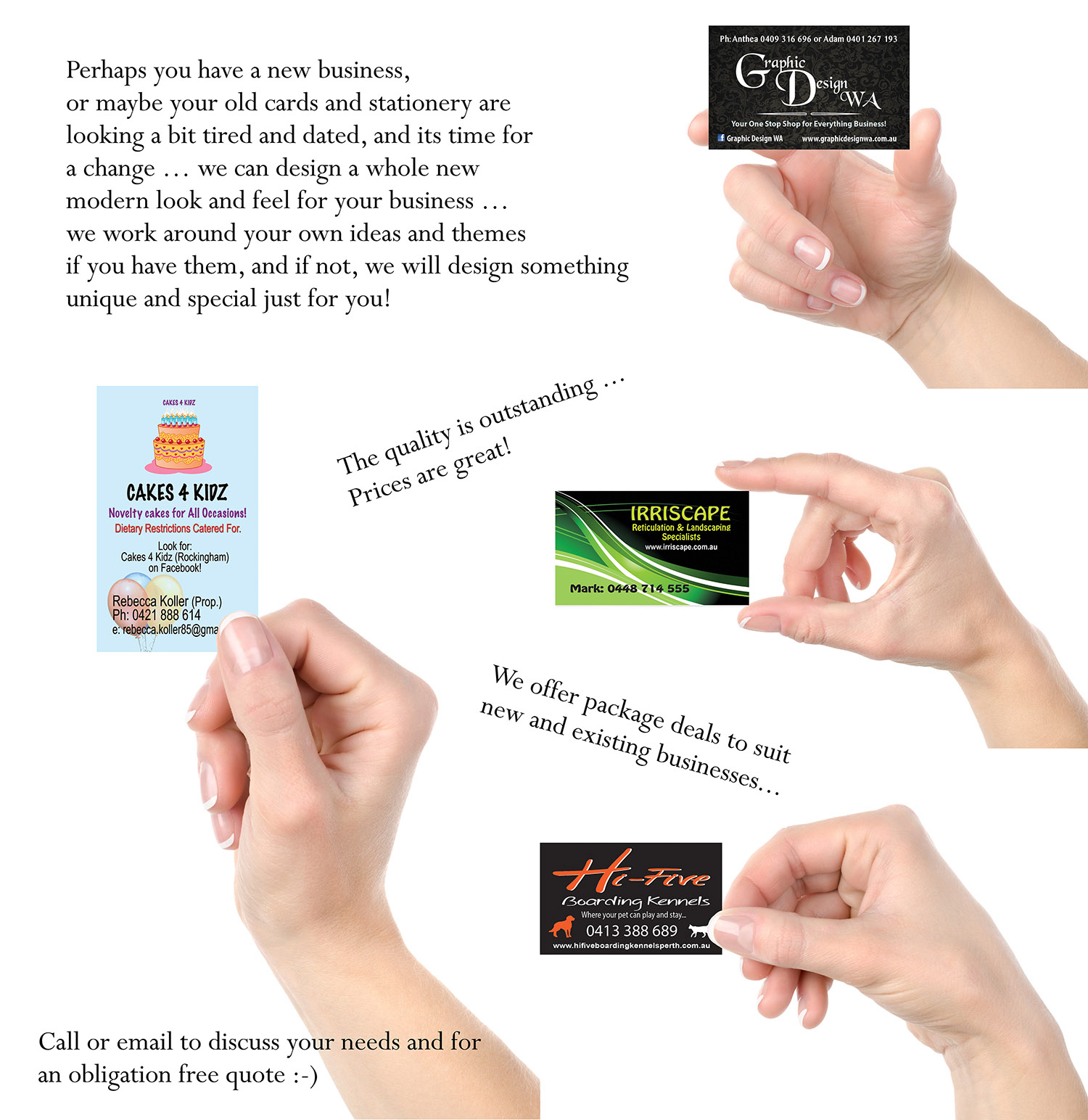 Business Card Printing Perth Choice Image - Free Business Cards